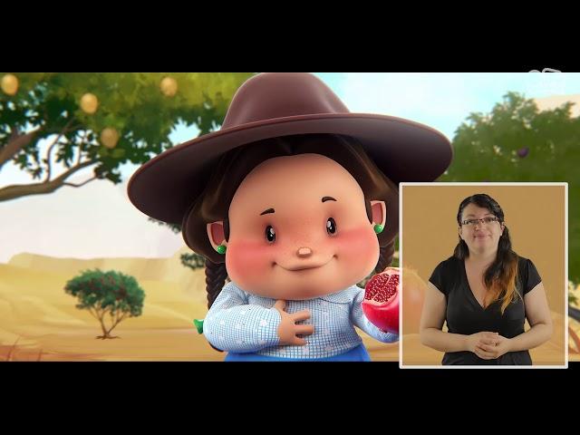 Pichintún Eva, una niña lickanantai  | Lengua de señas