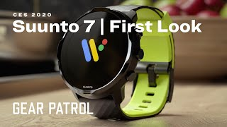 CES 2020: Suunto 7 Outdoors Smartwatch | First Look
