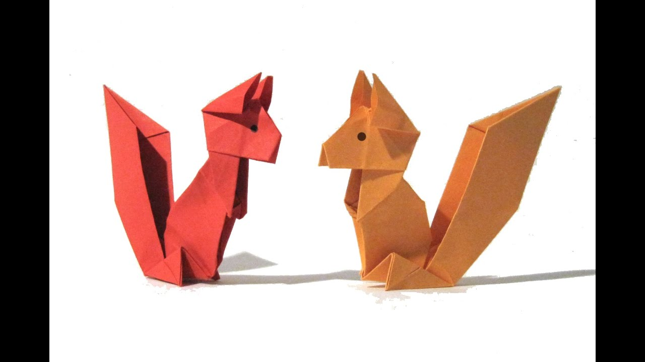 Origami squirrel easy origami tutorial old version how to make its youtube uninterrupted jeuxipadfo Choice Image
