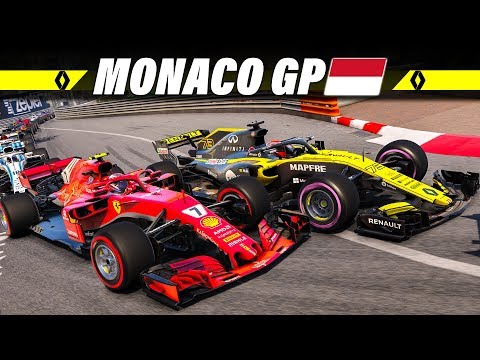 F1 2018 KARRIERE S02E06 – Monaco GP | Let's Play Formel 1 Deutsch Gameplay German