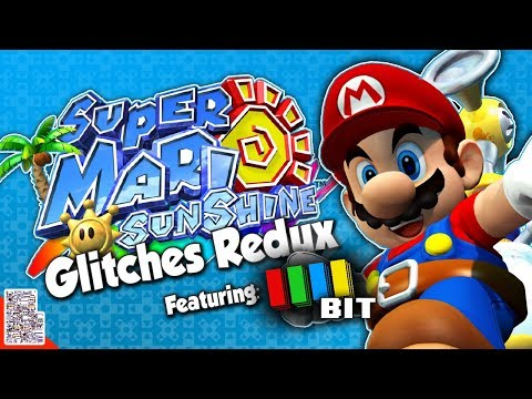 Glitches in Super Mario Sunshine Redux ft. TetraBitGaming - Glitches With DPadGamer