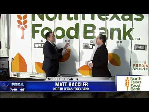 North Texas Food Bank gets new truck