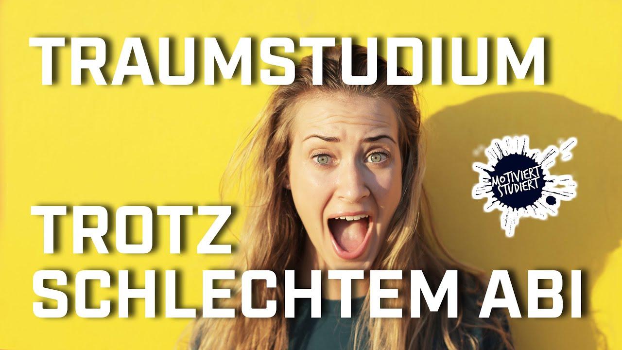 Studieren mit schlechten Abi 2020    In 9 min zum Traumstudienplatz