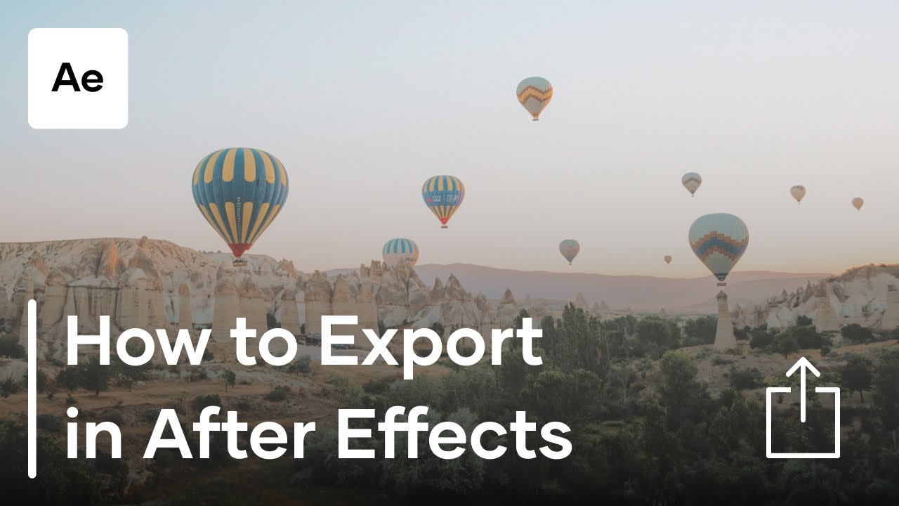 Best Export Settings in After Effects CC | 4K Shooters