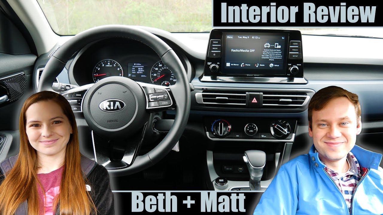 The 2021 Kia Seltos Interior Has Some Strange Features Beth Matt Youtube
