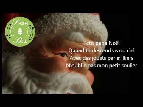 Petit Papa Noël   Chansons de Noël en français