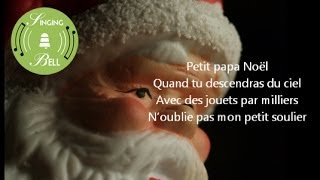 Petit Papa Noël (lyrics - instrumental)