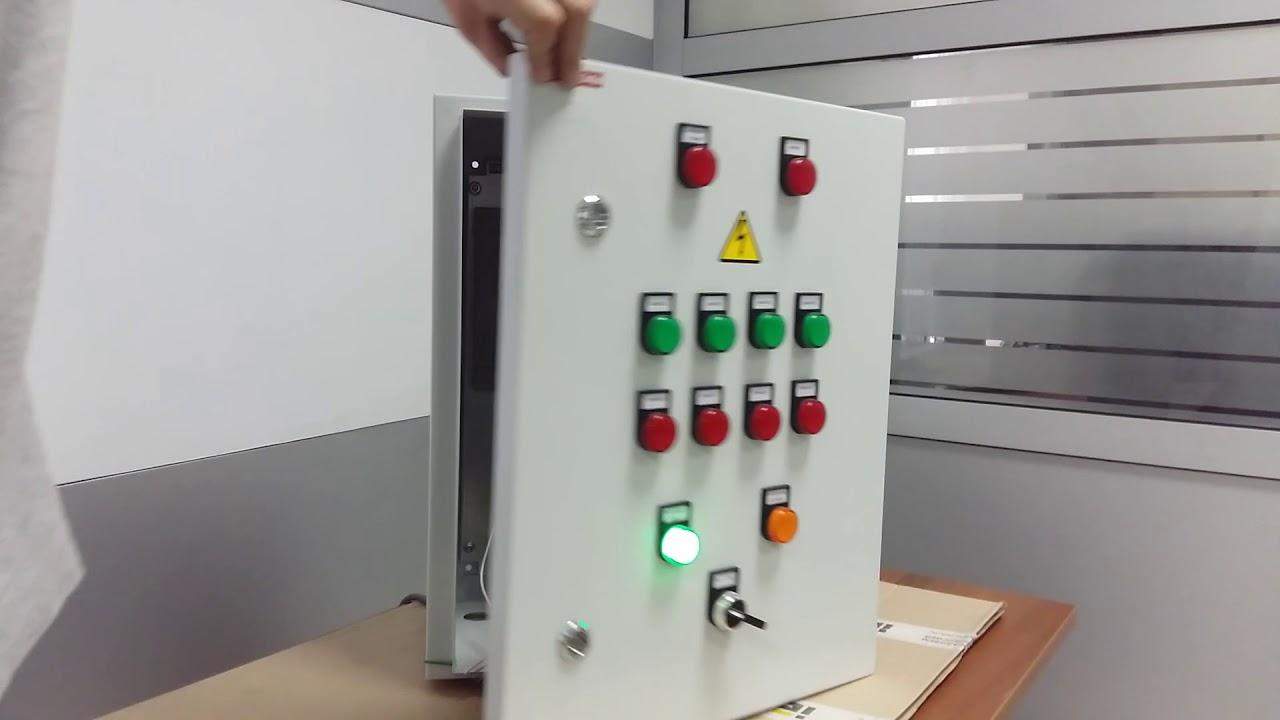Сборка шкафа управления противодымными клапанами