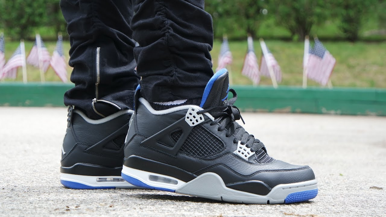 the latest 2e92f 36678 AIR JORDAN 4 MOTORSPORT