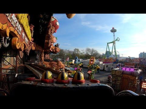 Virtual Reality Ride Dr. Archibald – Master of Time (Greier) Hamburg Frühlings Dom 2019 POV Onride