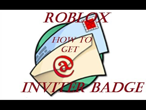 Roblox how to get inviter badge *PATCHED* - YouTube