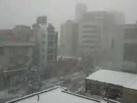 Winter in Mashhad,Iran,view from Tabarok building,06/01/2012