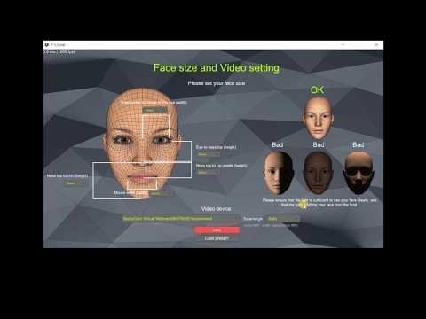 Facial mocap software f-clone 2 minutes tutorial(updated