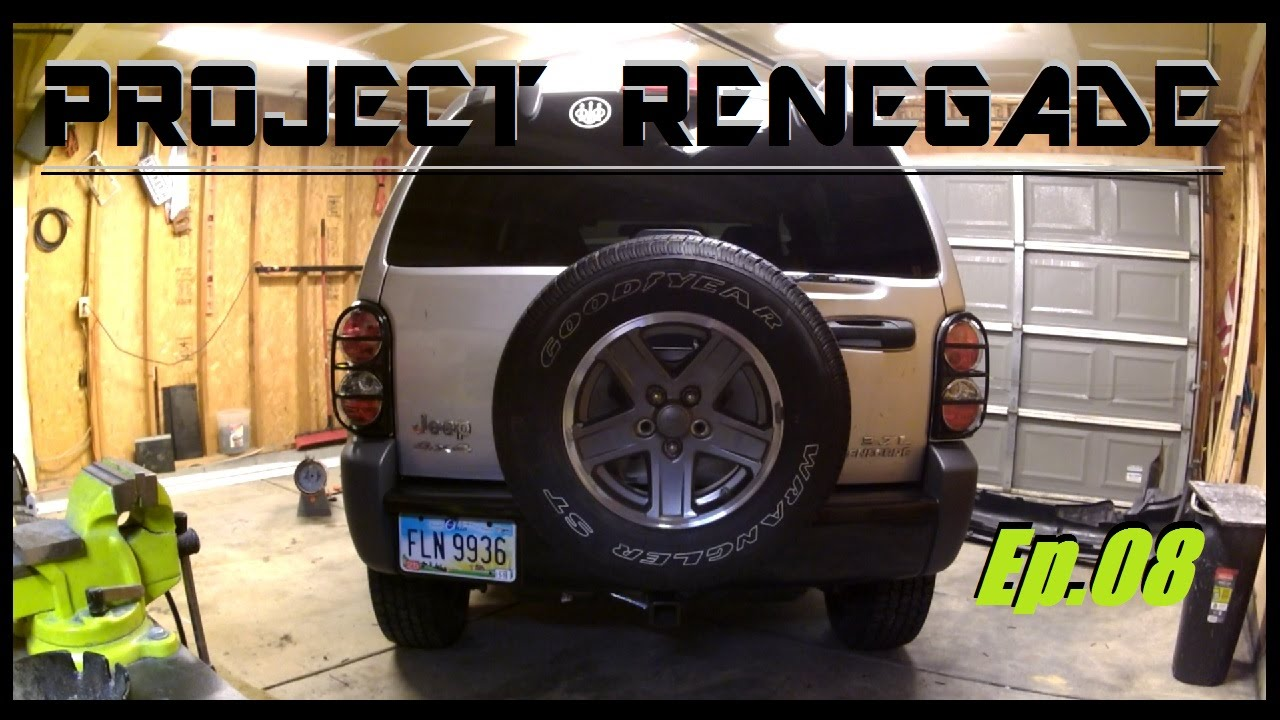 2005 Jeep Liberty Rear Per Tail Light Install Project Renegade Ep 08