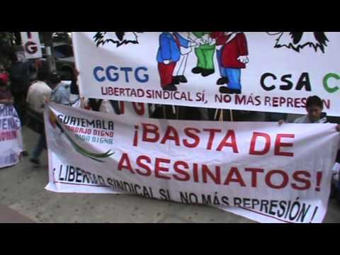 CGTG: Concentración frente al Ministerio de Trabajo y Prevision Social. parte 1