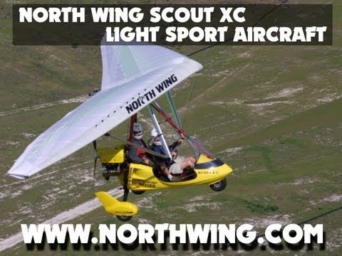 North Wing Scout XC Light Sport Aircraft Trike.