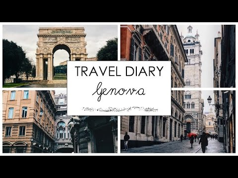 Travel Vlog // Genova, Italy