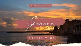 Travel Vlog // Genova, Italy
