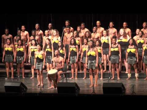 World Choir Games 2014, Riga. 10.07.2014. COTA Youth Choir Namibia