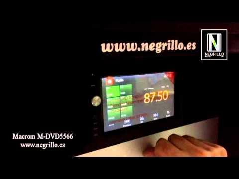 Radio Multimedia Macrom M- DVD-5566