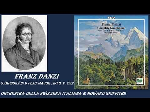 Franz Danzi: Symphony in B flat major, No. 3, P. 222