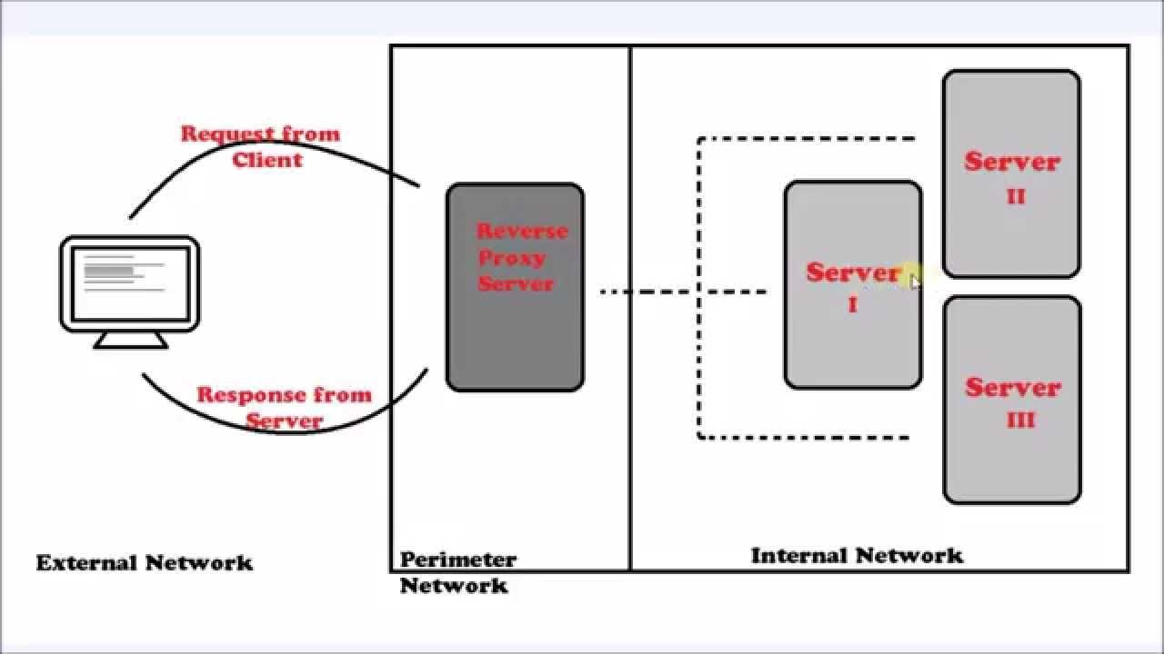 Proxy Server and Reverse Proxy Server - YouTube