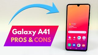 Samsung Galaxy A41 - Pros and Cons!