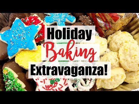 What I Baked for Christmas! Sugar Cookies, Crispix Mix, Sponge Candy, Oreo Truffles + More