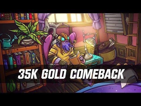 35k Gold Comeback Tinker - Dota 2