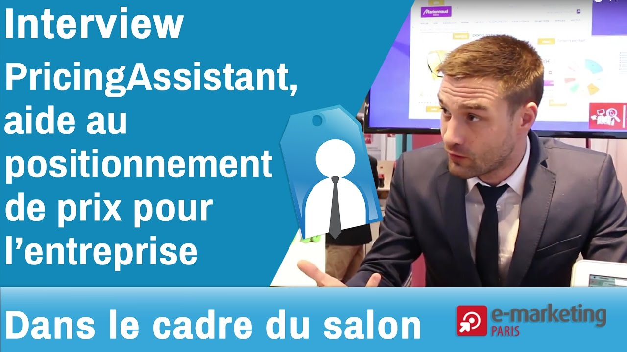 E Marketing Salon Interview Pricing Assistant Au Salon E Marketing Paris 2017 Emktp2017