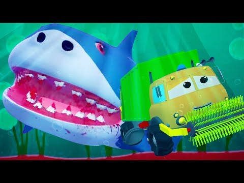Frank And The Flying Shark Road Rangers Video For Kids & Babies