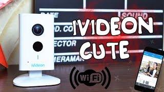 IVIDEON CUTE Обзор облачной WIFI Камеры