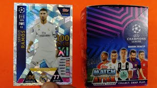 SERGIO RAMOS 100 CLUB!! BOX MATCH ATTAX Champions League 2018-19