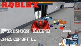 Roblox: Prison Life: Taking down MASSIVE amounts of cops