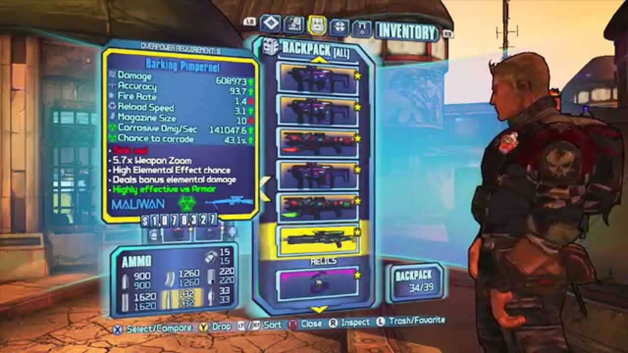 Borderlands 2: The OP8 Gear I Frequently Use (Updated ... Borderlands 2 Is Uvhm Easy With Op8 Gear