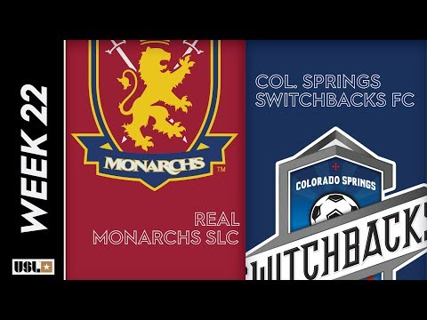 real monarchs slc vs colorado springs switchbacks fc august 2nd 2019 youtube youtube