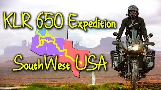 KLR Expedition Southwest USA - 4000 Miles Off the beaten Path …