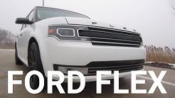 2017 Ford Flex Limited V6 with AWD | Rental Car Review and Test Drive