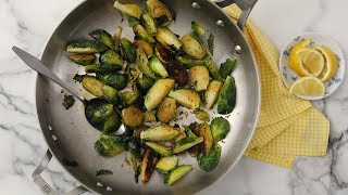 Caramelized Brussels Sprouts with Lemon - Martha Stewart