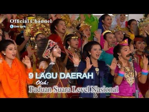 9 Lagu Daerah Terpopuler By Orkestra+Paduan Suara Nasional (Best Indonesia Songs)