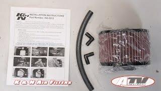 ATV Television Product Review – K&N Air Filter on Honda Pioneer 500