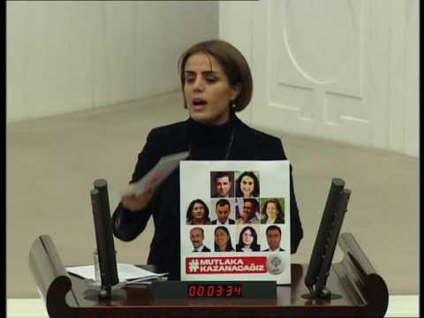 Ayşe Acar Başaran Kültür Bakanlığı Bütçesi Üzerine Konuşuyor