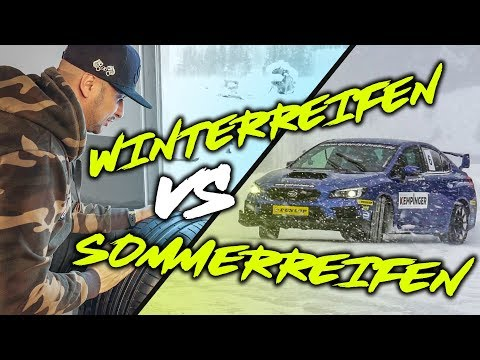 JP Performance - Winterreifen VS. Sommerreifen | Dunlop Wintertraining