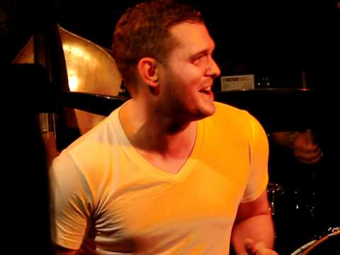Michael Buble with Boathouse All Stars  All Of Me   at The Basement Sydney 18022011