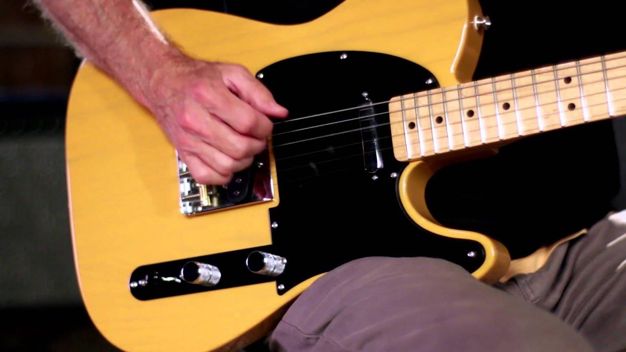 product spotlight fender fsr standard ash telecaster butterscotch blonde electric guitar youtube. Black Bedroom Furniture Sets. Home Design Ideas
