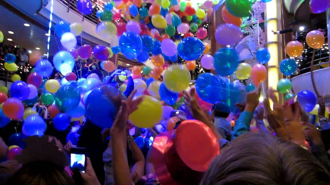 New Years Party On Cruise Ship YouTube - Cruise ship party