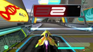 Wipeout Pulse - Gameplay PS2 HD 720P