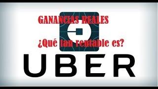 ¿Qué tan rentable es uber 2017? Cifras reales|Parte 4