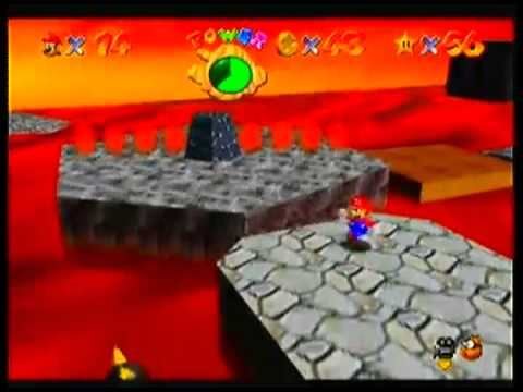 Let's Play Super Mario 64 PT7 - Fire Hot
