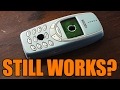 NOKIA 3310 vs. DRILL PRESS | Does the legend still work after drilling?